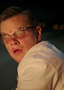 suburbicon movie still matt damon george clooney