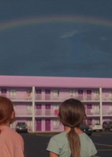 The Florida Project movie still childhood william defoe