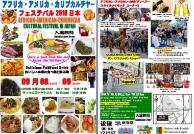 Afro American Caribbean Festa 2018 International Festival Food Performance