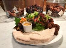 kuumba du falafel pita shibuya food