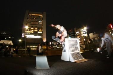 skateboarding nakano sun plaza