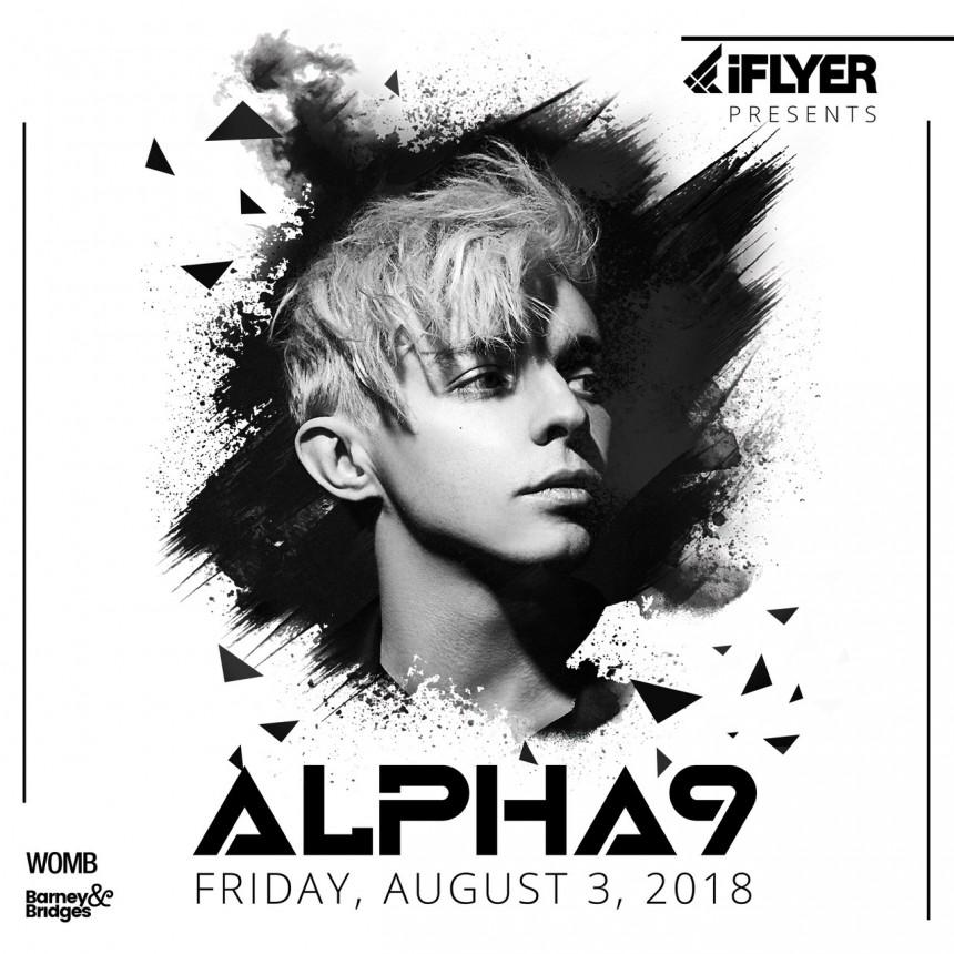 iFLYER presents Alpha 9 at Shibuya's womb