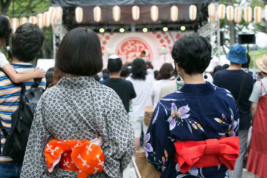 Shibuya no Natsumatsuri Summer Festival Food Music Events