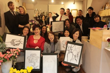 Divya Marie Kato Online Drawing School Art Exhibition