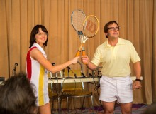 Battle of the Sexes movie still Billie Jean King Tokyo