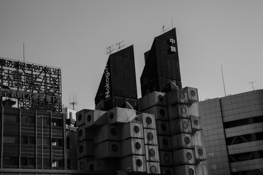 Nakagin Capsule Tower Tours Haunting Culture Community HIstory Scenic Architecture