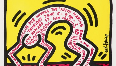 Keith Haring Exhibit: Pop, Music & Street, Omotesando