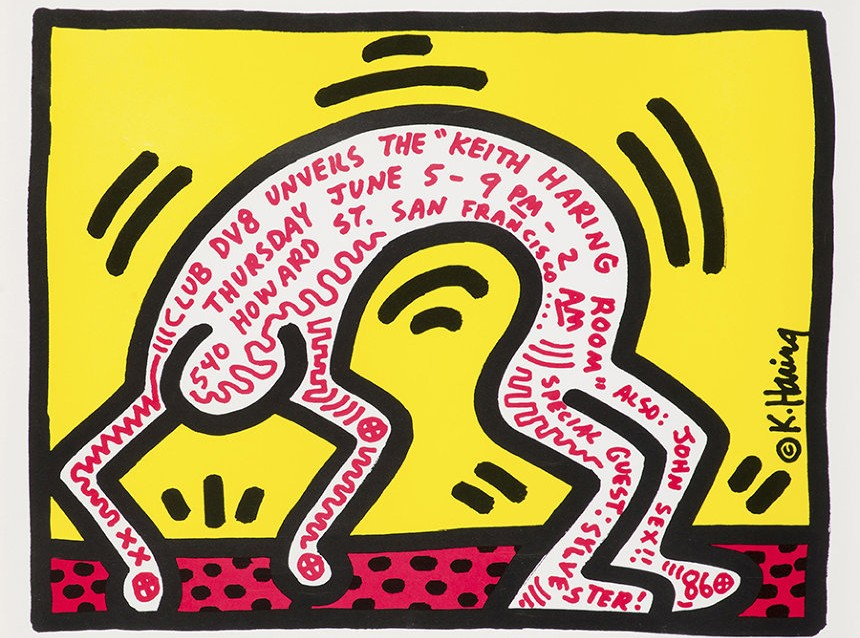Keith Haring Exhibit art exhibition pop Tokyo museum