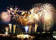 Fireworks Summer Hanabi Festival
