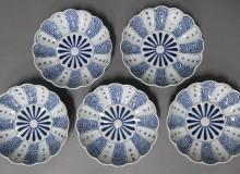 Imari Ware Porcelein Dishes Exhibition Toguri Museum of Art