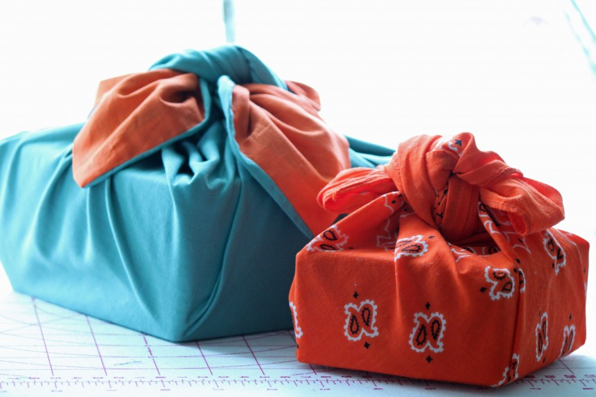 Furoshiki Traditional Wrapping Cloth Package Culture