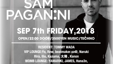 SESSION presents SAM PAGANINI