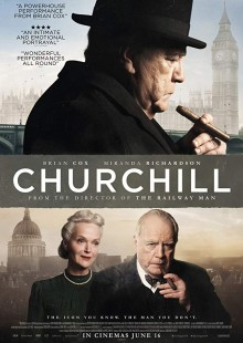 Churchill movie poster