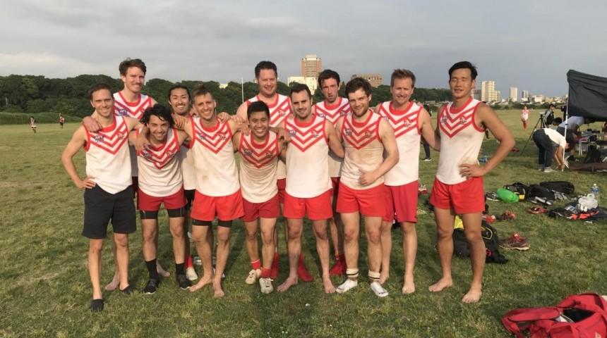 Japan's Aussie Rules Football League