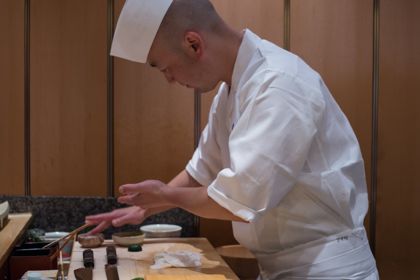 Top Ten Budget Omakase Sushi Lunch Restaurant Lunches Tokyo Gourmet Dining Guide Kyubey