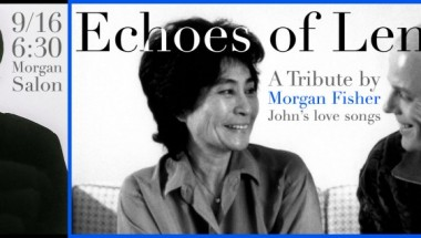 MORGAN FISHER: ECHOES OF LENNON Tribute to the Beatle's love songs