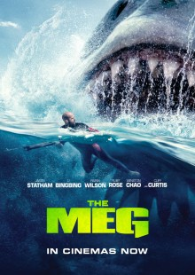 the meg movie review poster