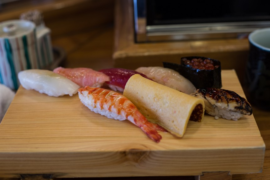 Top Ten Budget Sushi Lunch Restaurant Lunches Tokyo Gourmet Dining Guide Yoshino