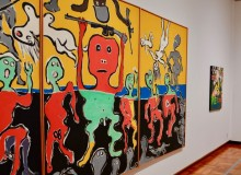 Nick West Art Exhibition 1968 Art in the Turbulent Age Chiba Museum of Art Japan