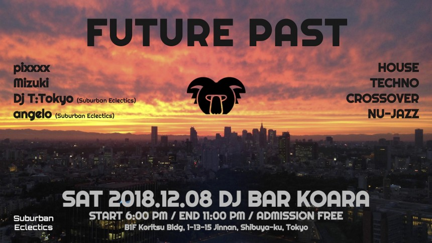 2018.12.08 FUTURE PAST flyer
