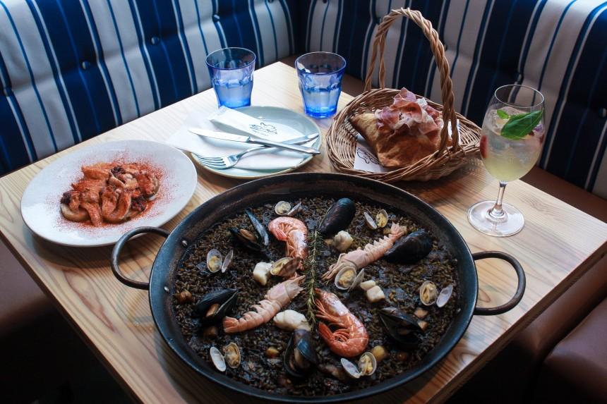 paella, Spanish food, Xiringuito Escribà