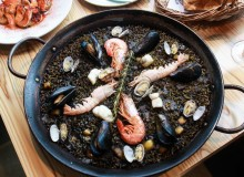 paella, Spanish food, Xiringuito Escribà