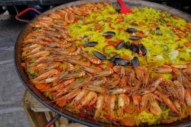 paella, spain, festival,