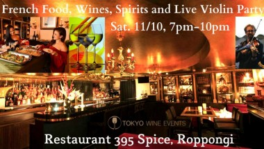 French Wines, Food and Live Violin Party
