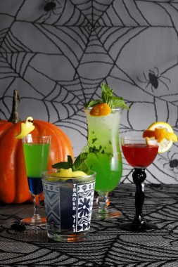 Trader Vic's Halloween Special Meal Cocktails Drinks