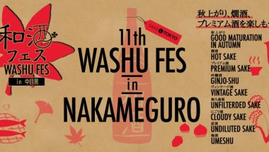 11th Washu Fes in Nakameguro