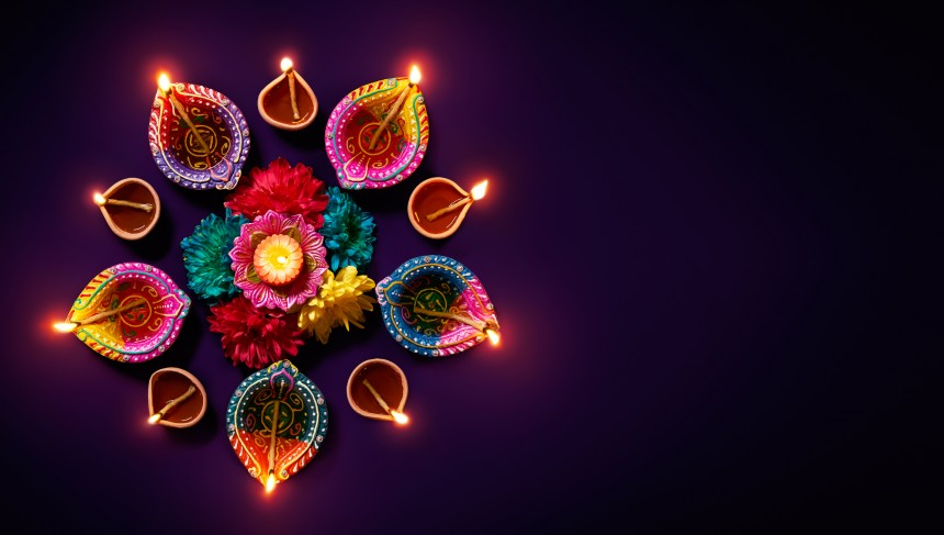 hindu, yokohama, park, miyashita, lights, culture, Diwali