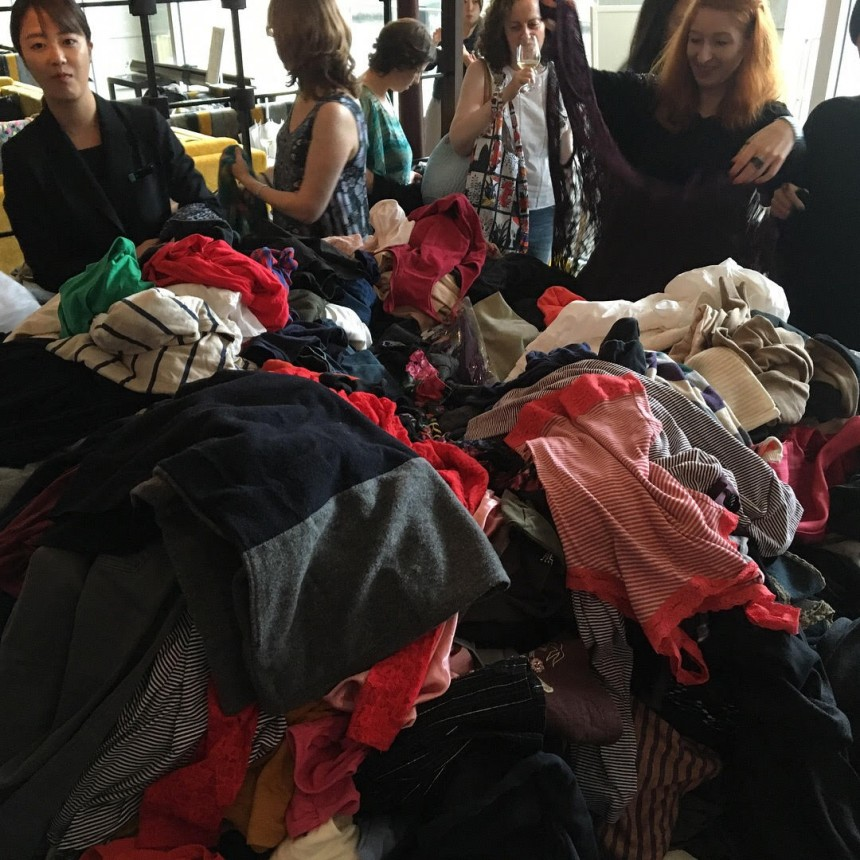 Mega clothes swap Tokyo Midtown