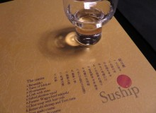 Suship sake sushi menu Vicki L. Beyer