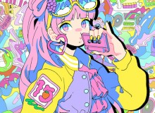 Moe Shop technicolor pop electronic music