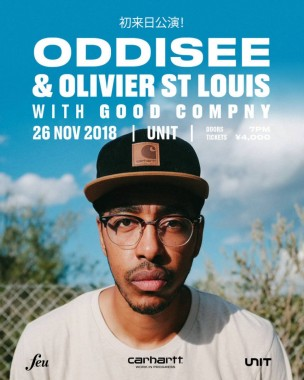 Oddisee & Olivier St. Louis with Good Compny Live in Tokyo