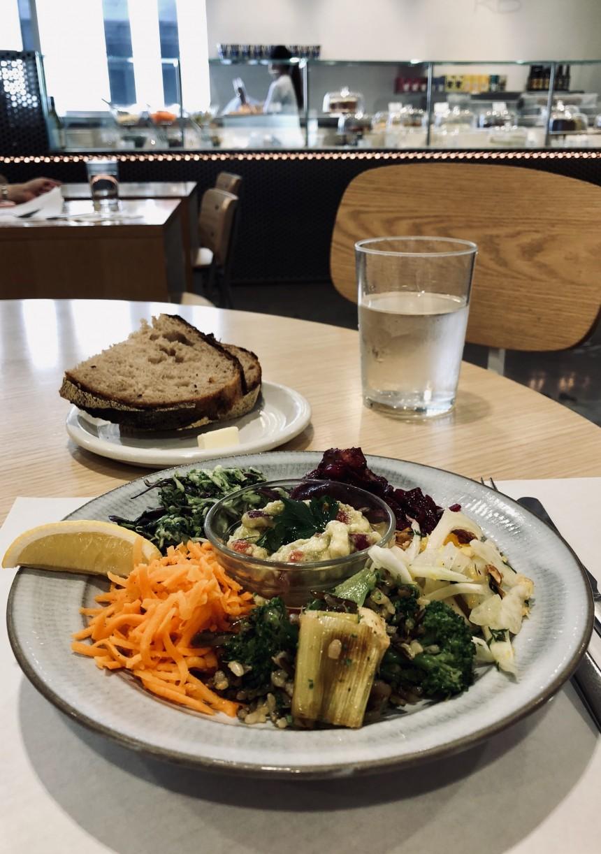 Rose bakery Salad Lunch Vegetarian Tokyo Vegan