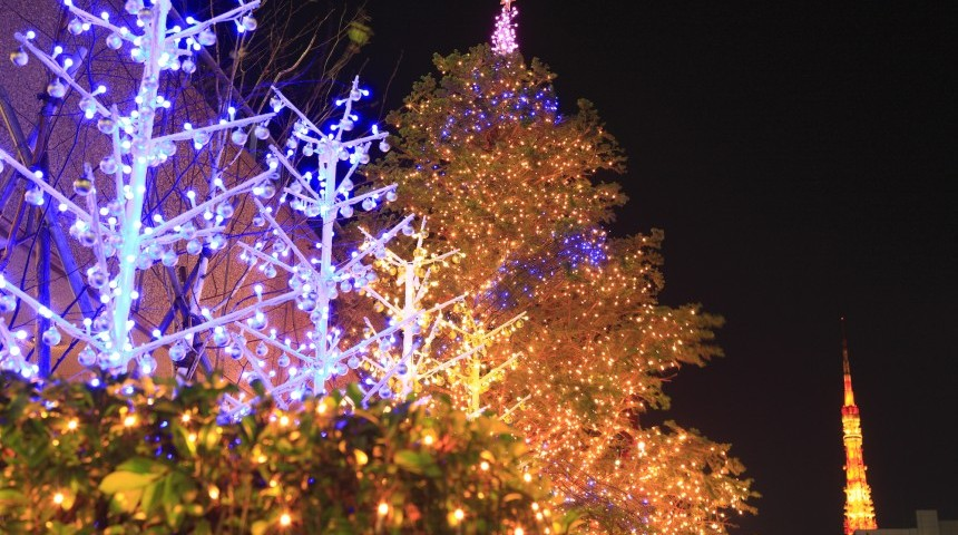 The Best of Tokyo's Christmas Illuminations 2018