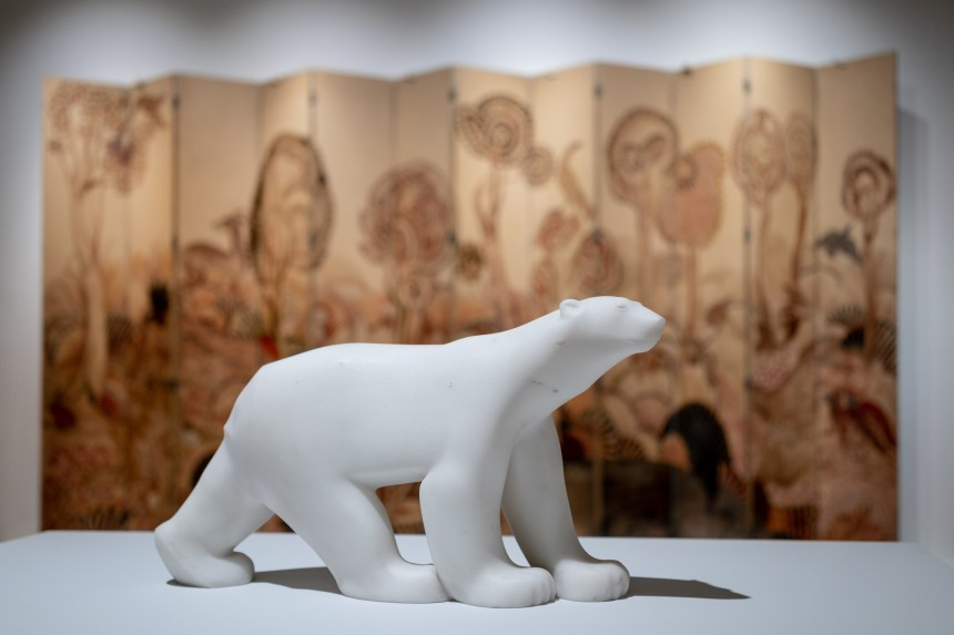 Polar bear Exoticism in Art Deco