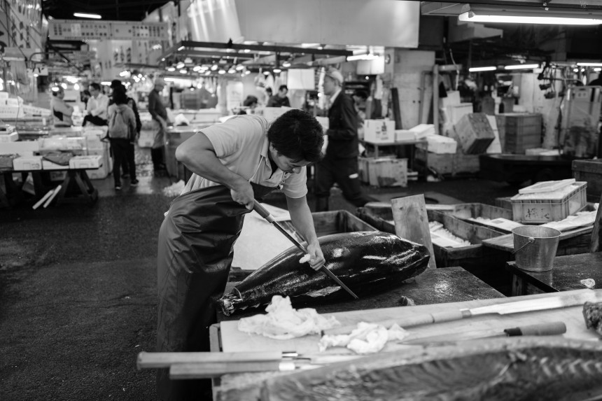 Tsukiji End of an Era Olivier Desmet Photo Essay Tsukiji Fish Market Last Day Tsukiji