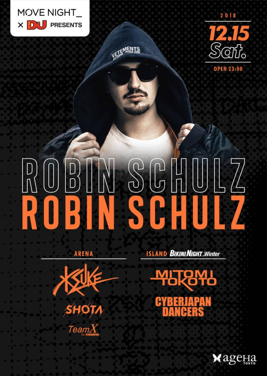 #MOVENIGHT with Robin Schulz at ageha