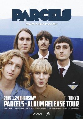 Parcels Album Release Tour at Shibuya WWW