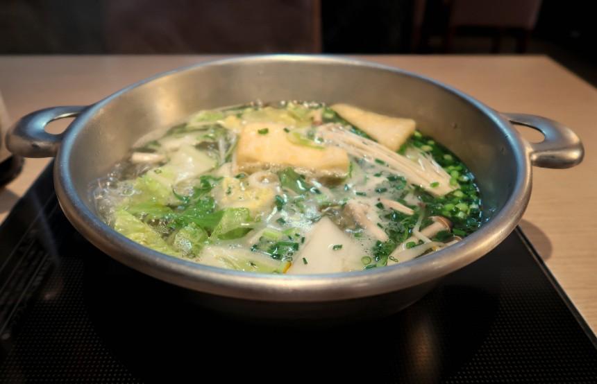 Nabe Shabu Shabu Vegetarian Winter Eats Tokyo Aikta Kumar
