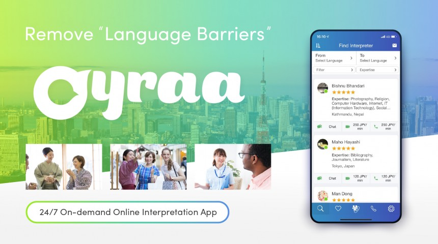 Oyraa Interpreter Services and App