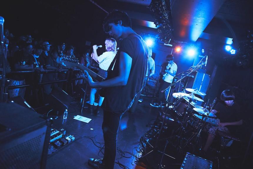 Luby Sparks live performance Yoshiaki Miura
