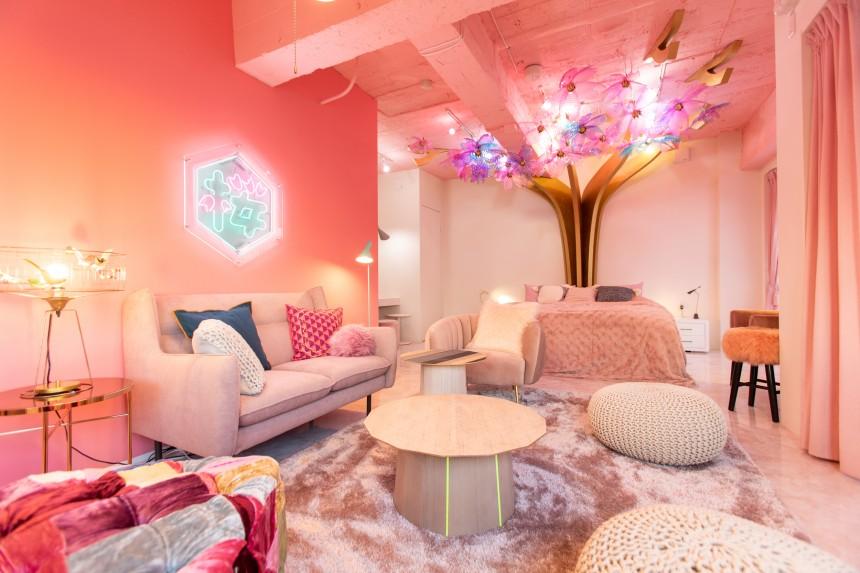 Moshi Moshi Rooms Harajuku Airbnb asobi system