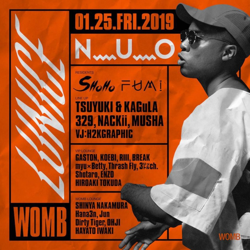 N_U_O presents Lunice at WOMB