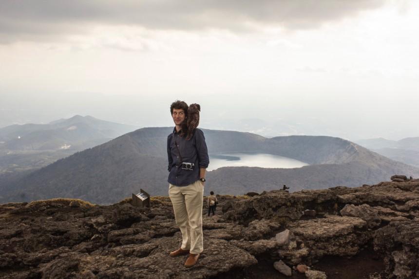 Peter Orosz: At the Human Pace walking mountains monkey Caroline Perrine