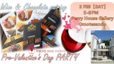Wine and Chocolate Pairings, Pre-Valentine Party