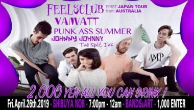 "AMP ""FEELSCLUB Japan Tour"""