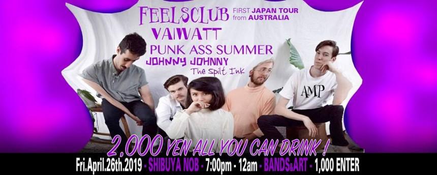 AMP FEELSCLUB Japan Tour SHIBUYA NOB